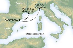 Генуя - Барселона - Марсель
