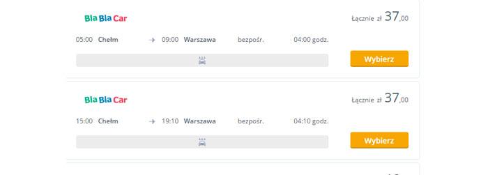 Хелм - Варшава - BlaBlaCar