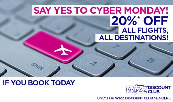 Wizz Cyber Monday