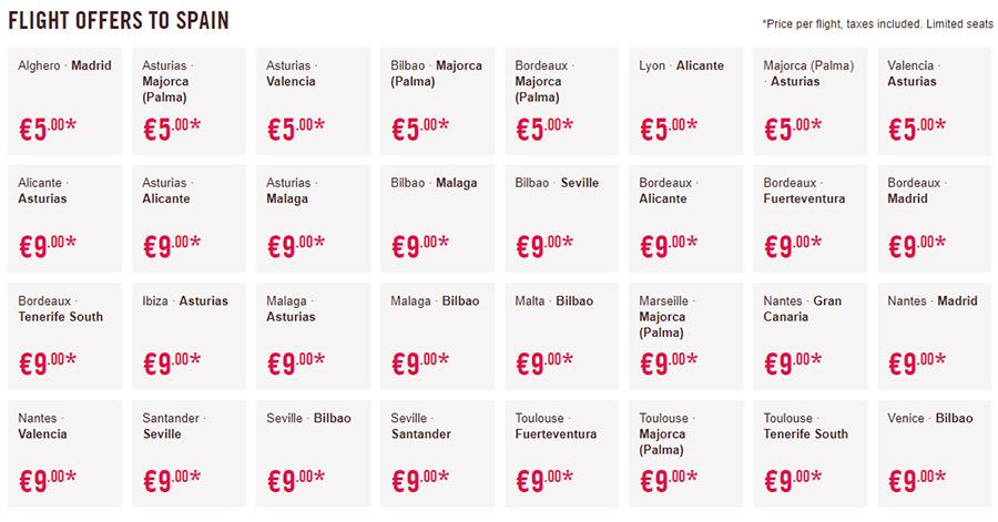 Дешеві авіаквитки в Іспанію