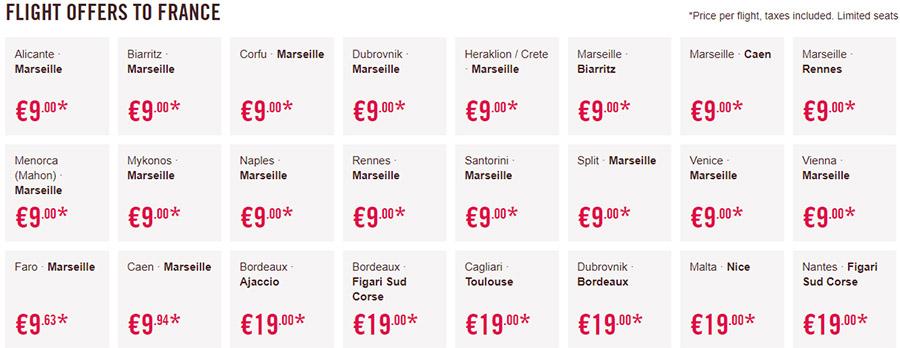 Дешеві авіаквитки у Францію