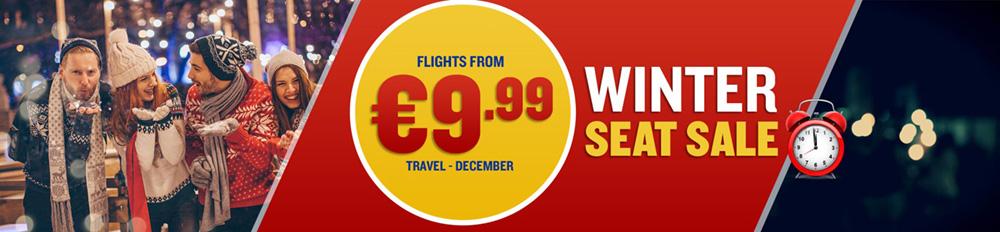 Ryanair december розпродаж