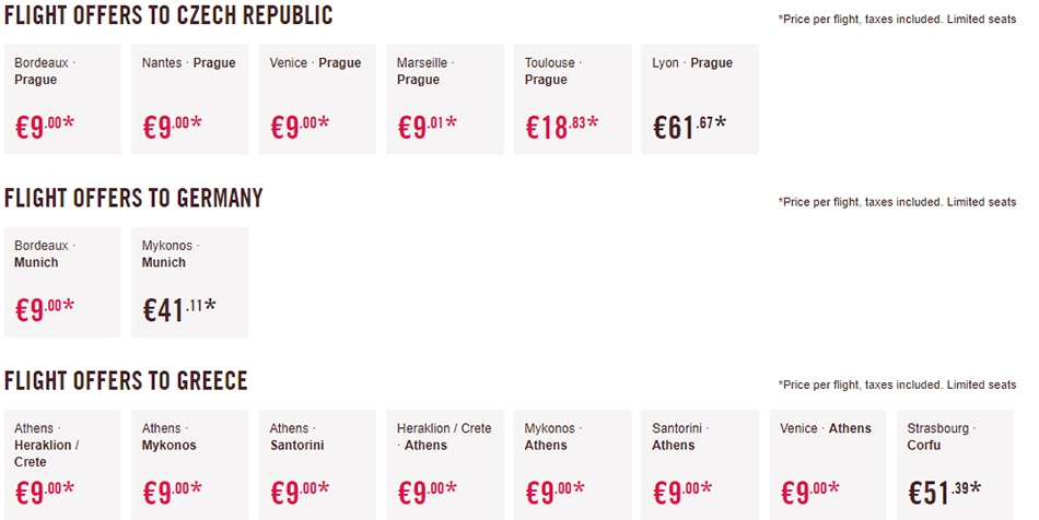Дешеві авіаквитки в Чехію, Німеччину та Хорватію: