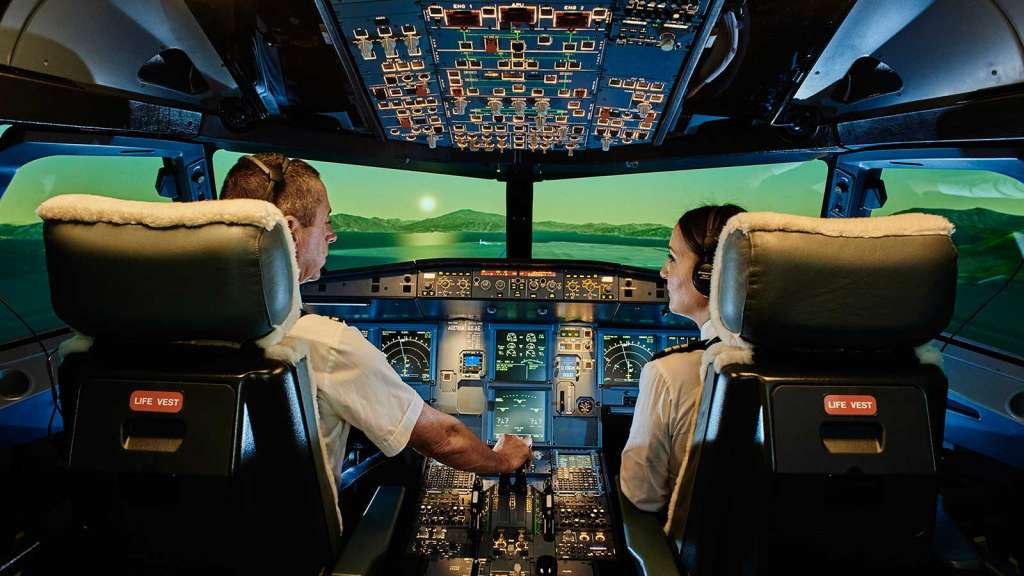 Кабіна пілотів літака