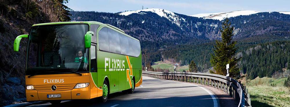 FlixBus - автобусні квитки з України