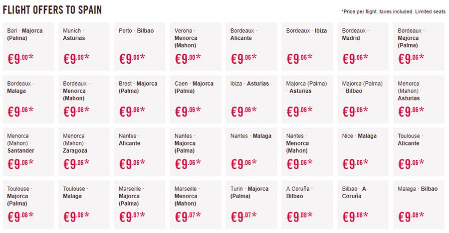 Лоукост авіаквитки Volotea в Іспанію