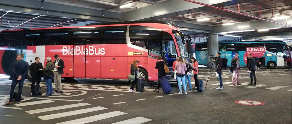 Перший рейс Blablabus