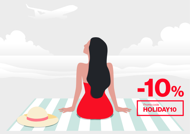 Ernest Airlines Holiday 10 sale