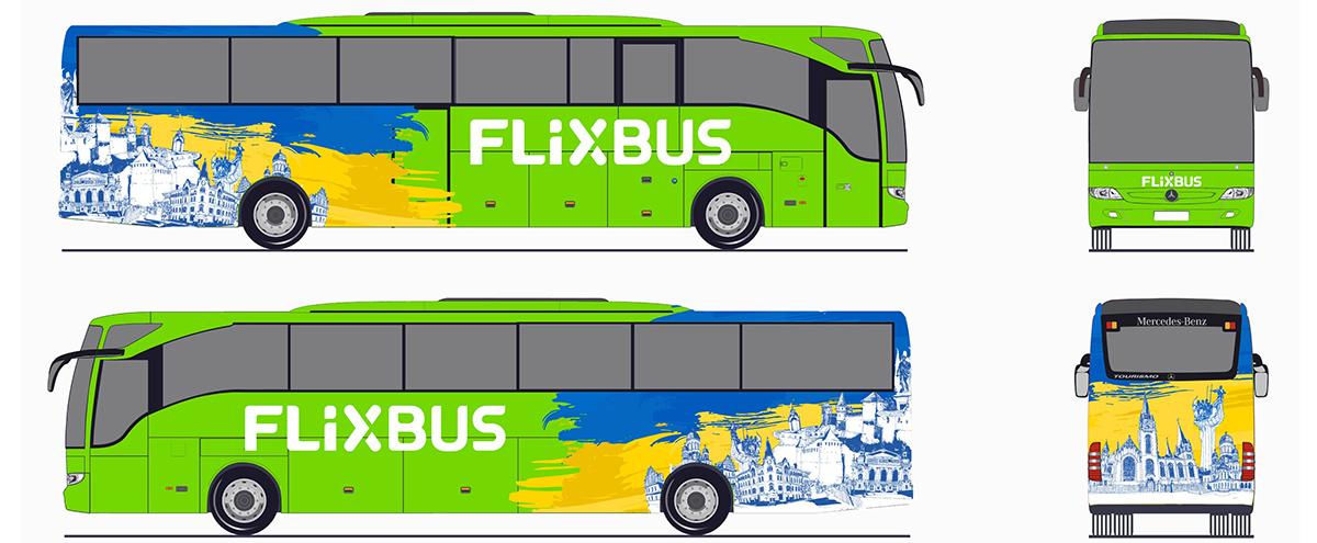 Ліврея автобусів FlixBus Україна
