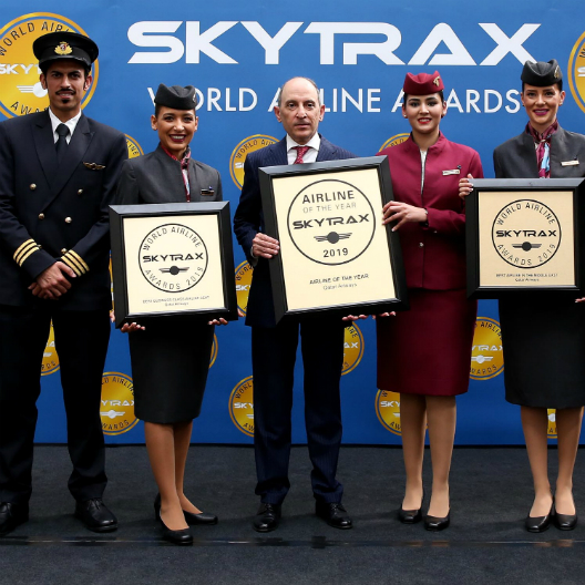 Qatar Airways Skytrax 2019 WIN
