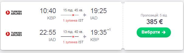 Київ - Вашингтон - Київ