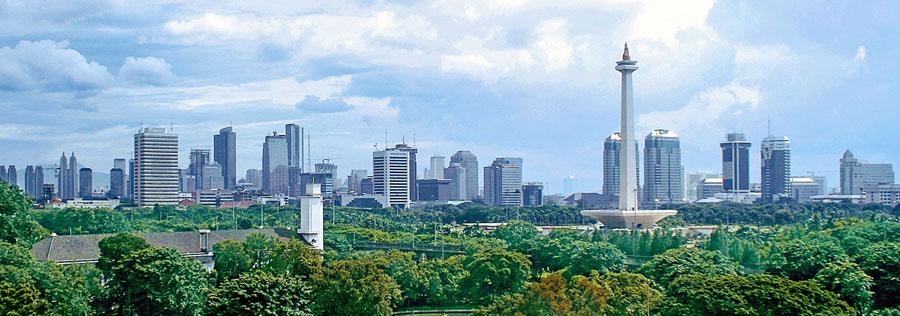 Панорама Джакарти