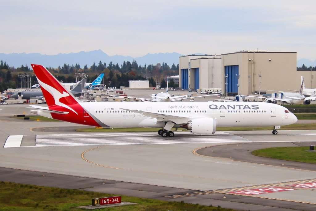 boeing 787-9 dreamliner qantas