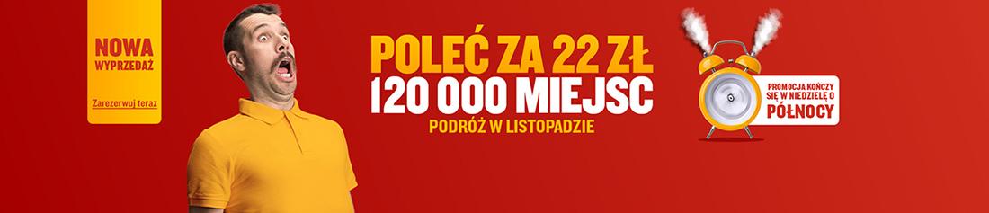 Розпродаж квитків Ryanair із Польщі