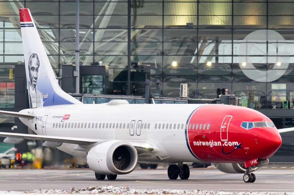 Norwegian boeing 737 gdansk