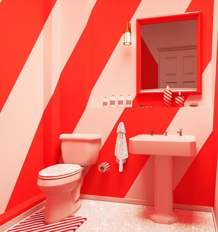 Bathroom candyhouse