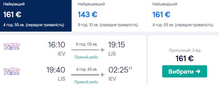 Прямі рейси Wizz Air від €161