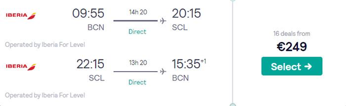 Барселона - Сантьяго - Барселона від €249