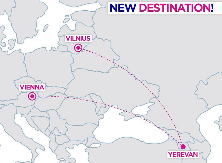 Карта нових напрямків