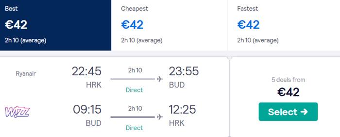 Харків - Будапешт - Харків від €42
