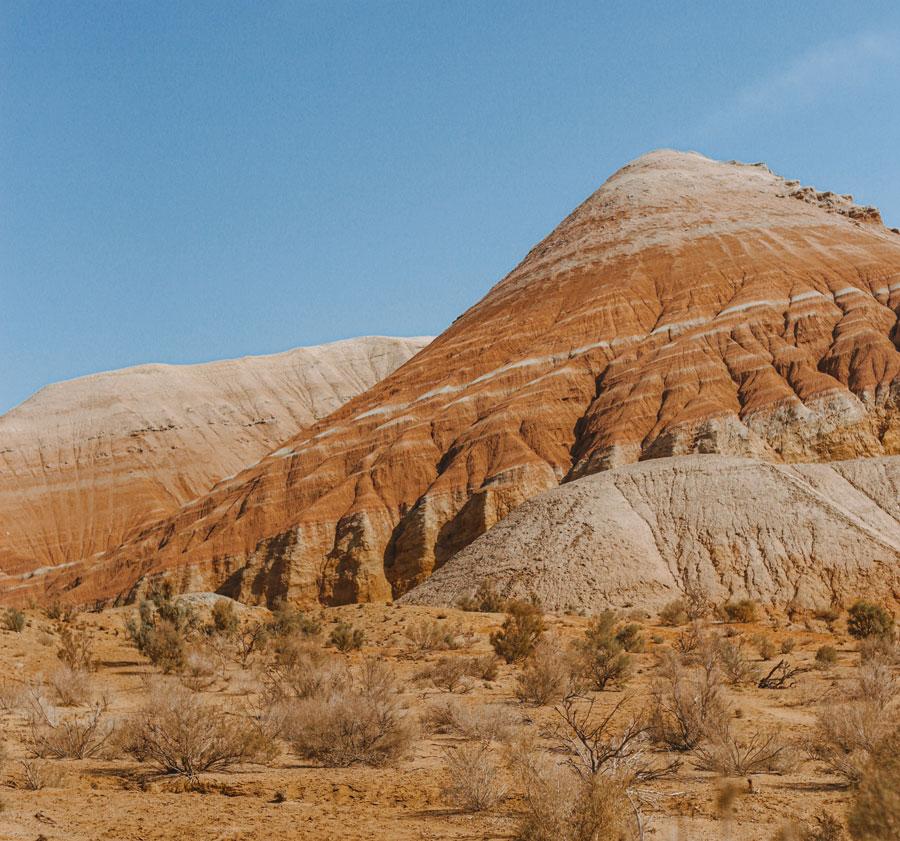 Крейдяні гори Актау