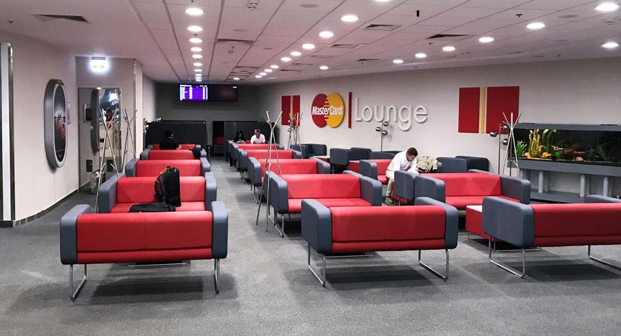 Один з бізнес-залів терміналу D в Борисполі