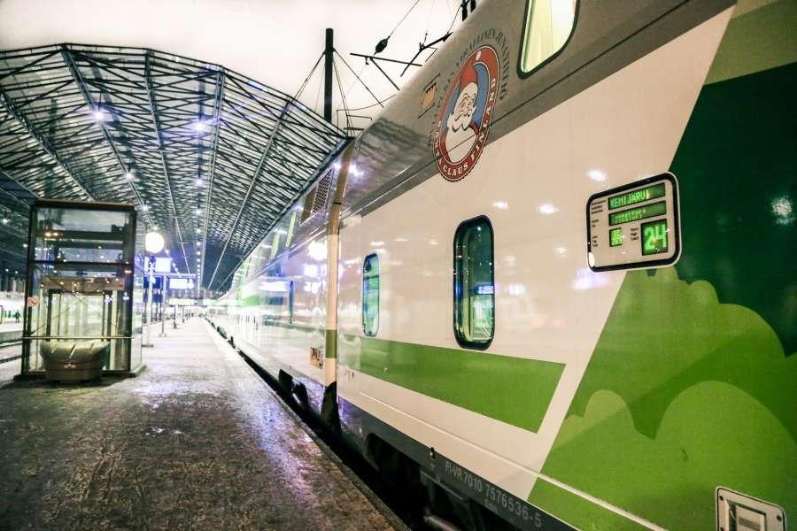 Train Helsinki to Rovaniemi