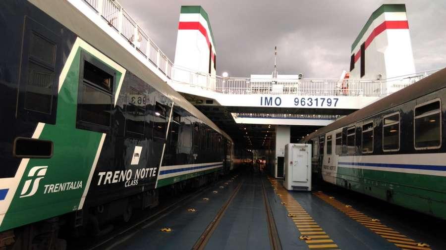Train Milan Palermo