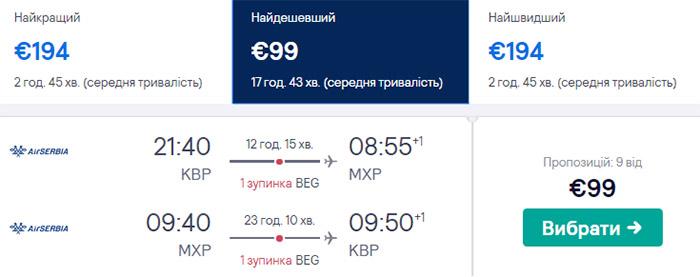 Київ - Мілан - Київ від €99