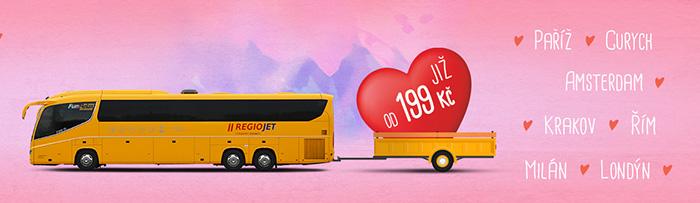Розпродаж RegioJet