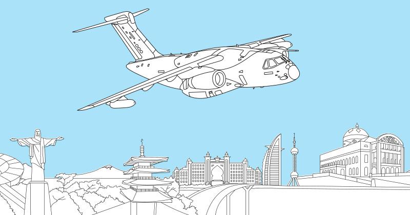 Розмальовка Embraer KC