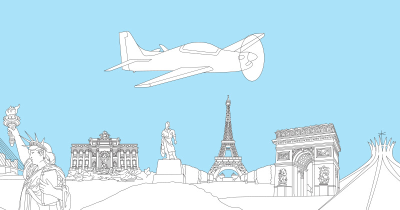 Розмальовка Embraer Tucano