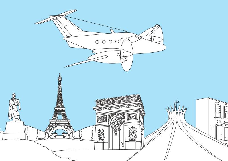 Розмальовка Embraer Xiangu