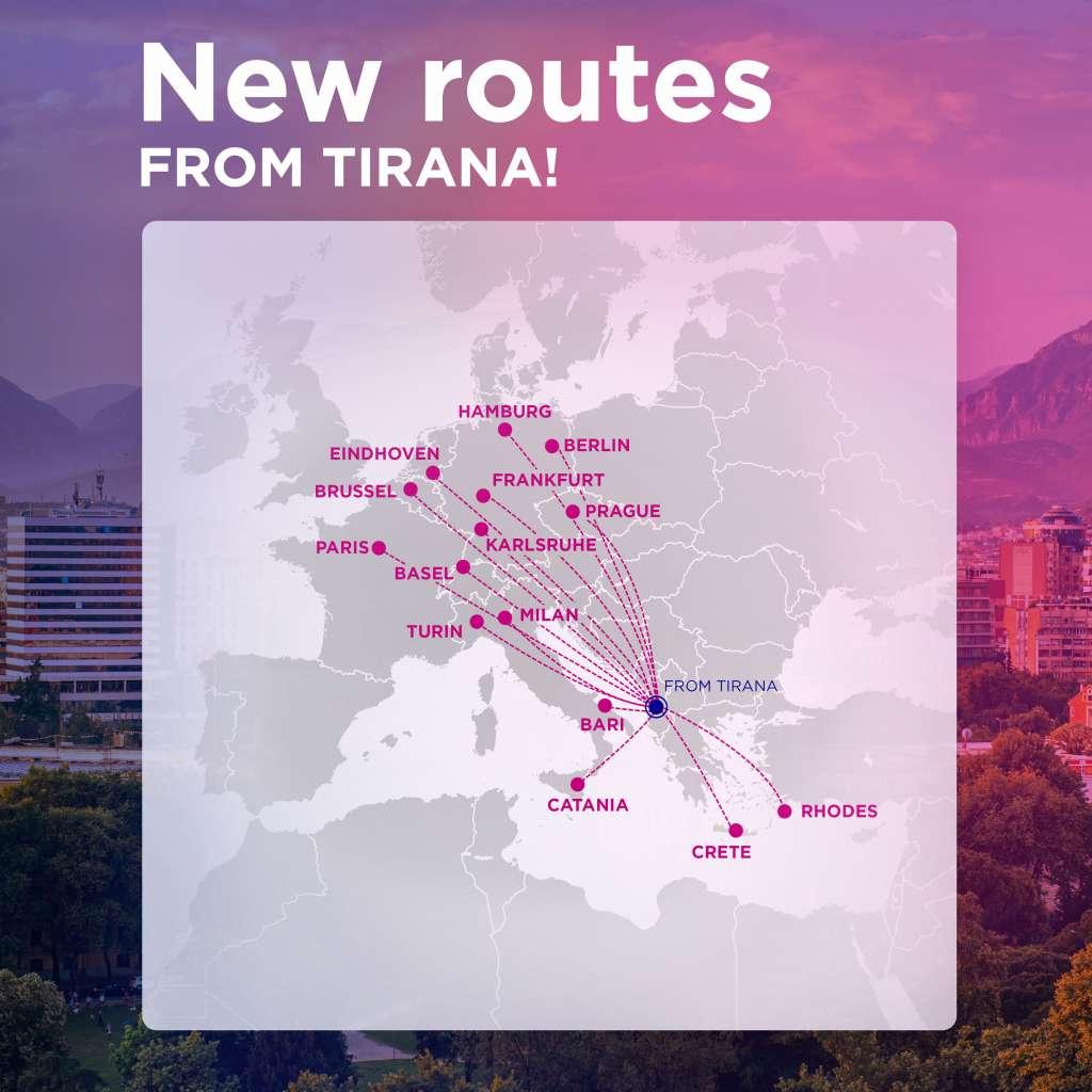 Tirana Map