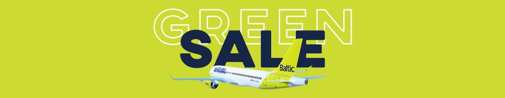 AirBaltic Green Sale