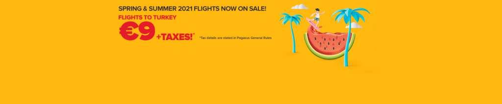 Розпродаж Pegasus Airlines