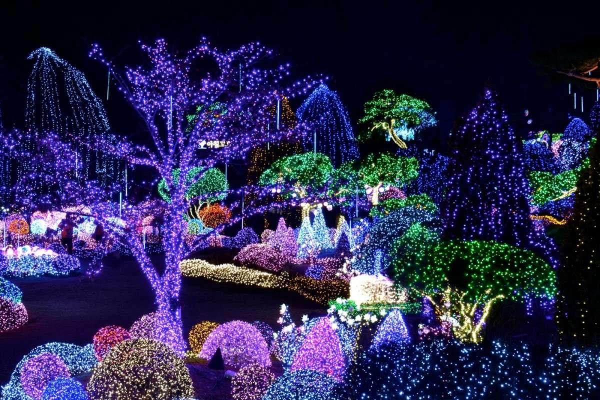 Фестиваль ліхтарів, Корея