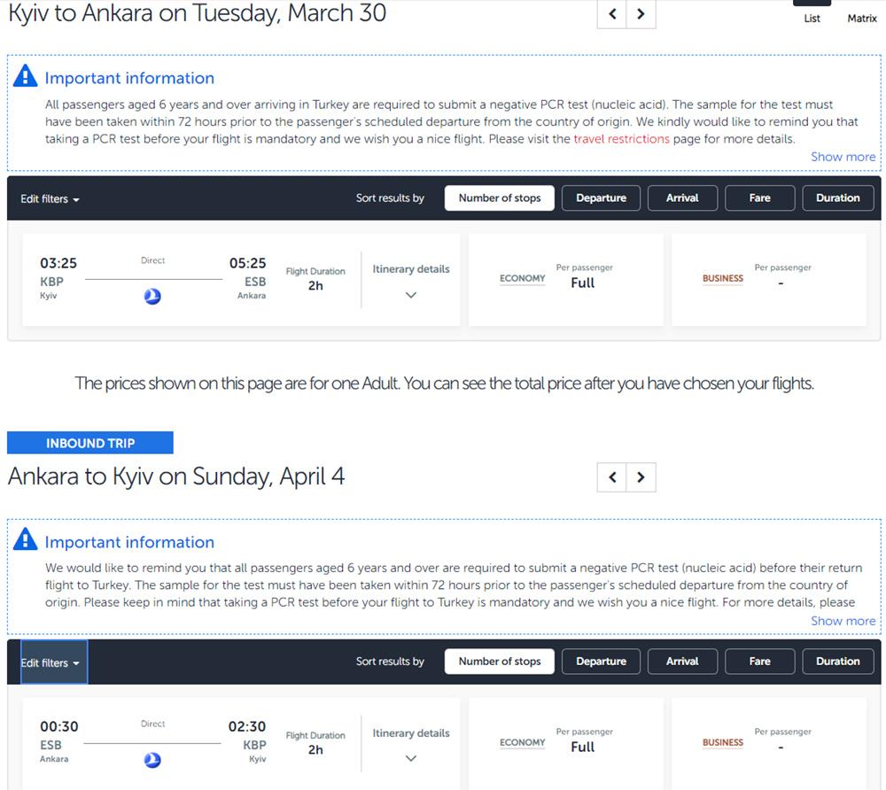 Новий напрямок AndalouJet в системі бронювання Turkish Airlines: