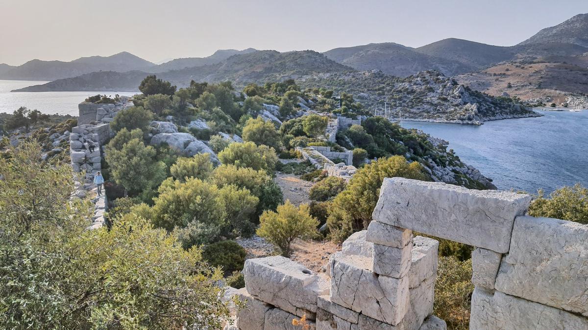 Руїни древнього поселення Лоріма