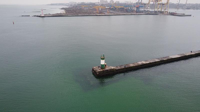 Зелений маяка